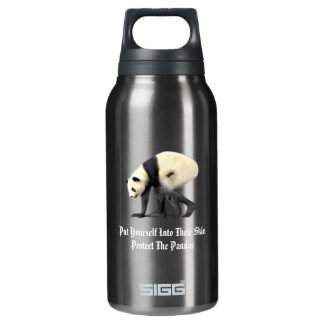 Protect The Pandas Insulated Water Bottle