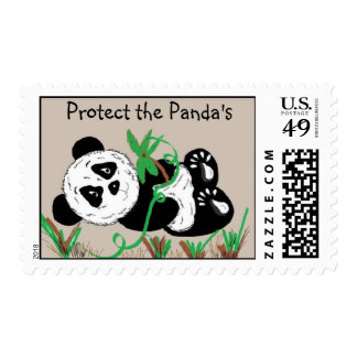 Protect the Panda's Postage