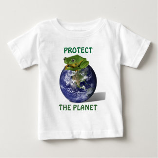 PROTECT THE PLANET FROG T-SHIRT