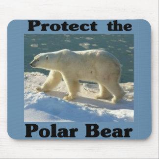 Protect the Polar Bear Mouse Pad