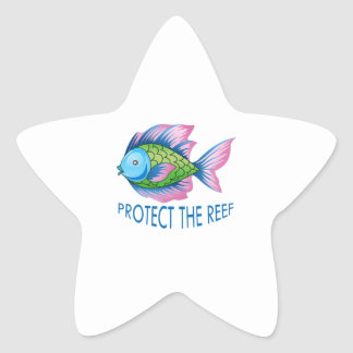 PROTECT THE REEF STAR STICKER