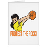 Protect The Rock Greeting Cards