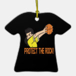 Protect The Rock Ornament