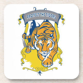 Protect the Tigers Coaster