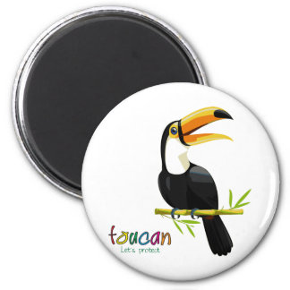 Protect the Toucan Refrigerator Magnets