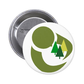 Protect The Trees 2 Inch Round Button