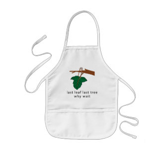 Protect The Trees Kids' Apron