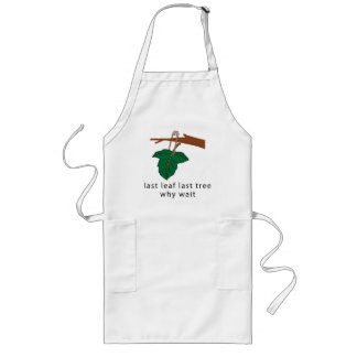 Protect The Trees Long Apron