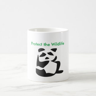 Protect the Wildlife mug