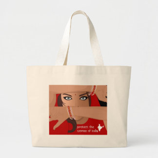 Protect the Women of India Bags