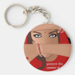 Protect the Women of India Key Chains