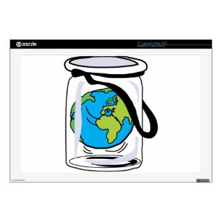 """Protect the World Decal For 17"""" Laptop"""