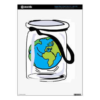 Protect the World Decal For iPad 3