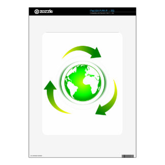 Protect the World Decals For iPad