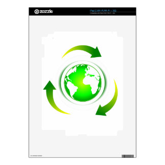 Protect the World Skin For iPad 2