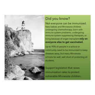 Protect Vulnerable MN Children postcard