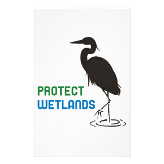 Protect Wetlands Stationery