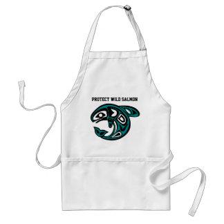 Protect Wild Salmon apron