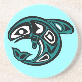 Protect Wild Salmon coaster