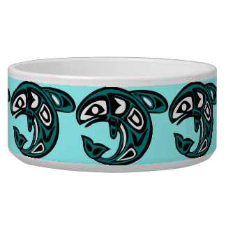 Protect Wild Salmon pet bowl
