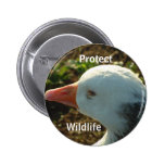 Protect Wildlife | Pinback Button
