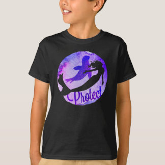 """Protect"" with Mermaid and Harbor Seal T-Shirt"