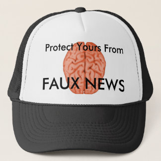 Protect Your Brain Trucker Hat