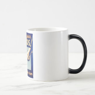 Protect Your Hands You Work With Them WPA Poster Magic Mug