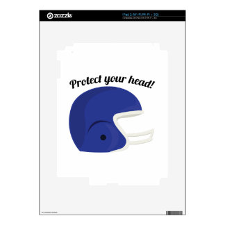 Protect Your Head Decals For iPad 2