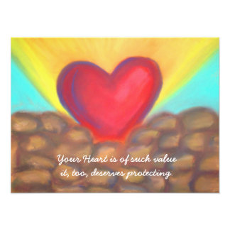 Protect your Heart print Photograph