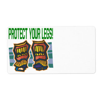 Protect Your Legs Label