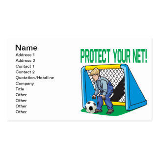 Protect Your Net Double-Sided Standard Business Cards (Pack Of 100)