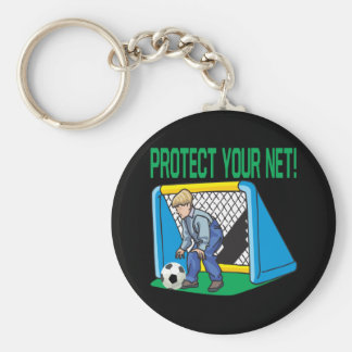 Protect Your Net Keychain