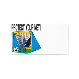 Protect Your Net Custom Address Labels