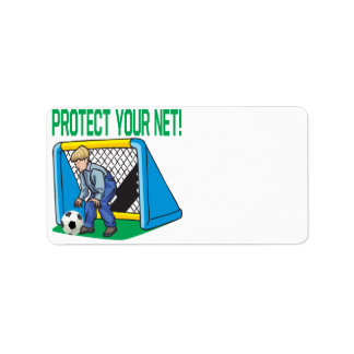 Protect Your Net Personalized Address Labels