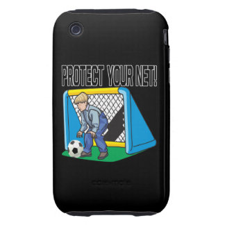 Protect Your Net Tough iPhone 3 Case