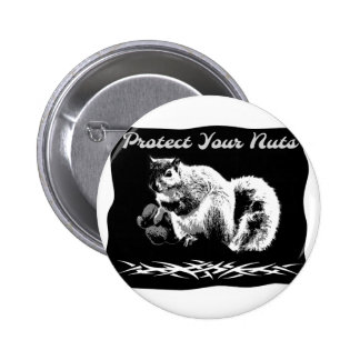 Protect Your Nuts 2 Inch Round Button