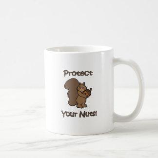 Protect Your Nuts Coffee Mug