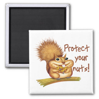 Protect Your Nuts Magnet