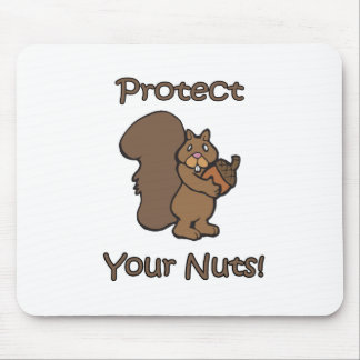 Protect Your Nuts Mouse Mat