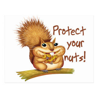 Protect Your Nuts Postcards