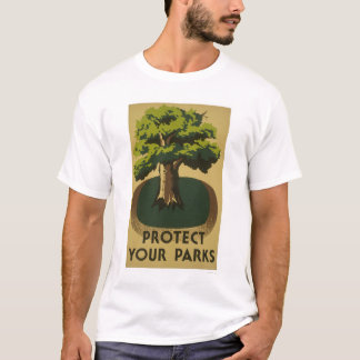 Protect Your Parks 1938 WPA T-Shirt