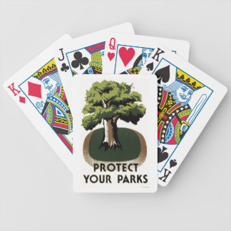 Protect Your Parks Bicycle Playing Cards
