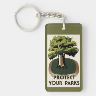 Protect Your Parks Keychain
