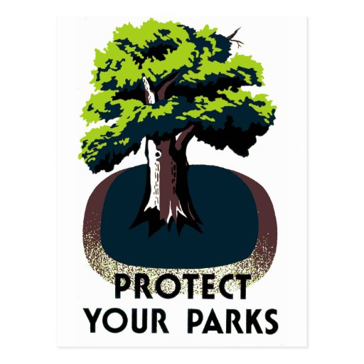 Protect Your Parks Postcard