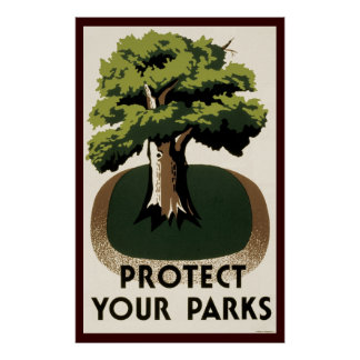 Protect Your Parks Poster