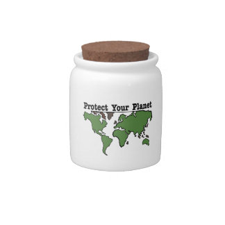 Protect Your Planet Candy Dish