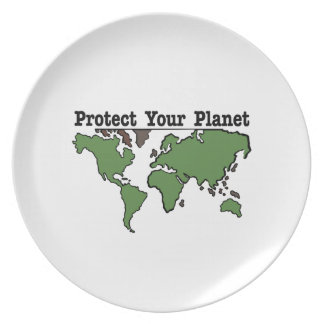 Protect Your Planet Party Plates