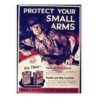 """Protect Your Small Arms 8.5"""" X 11"""" Flyer"""