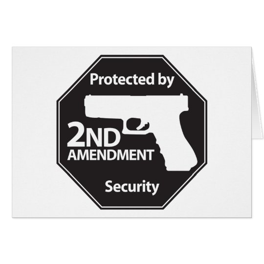 Protected by 2nd Amendment Card